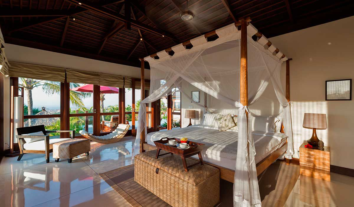 Master Suite at Villa Capung Bali